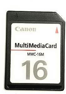 Canon Sdc 16m Secure Digital Memory Card Sd Powershot Elektronik