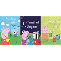 Storybook Collection: Peppa Plays Football, Peppa's First Sleepover and Recycling Fun!
