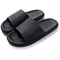 Women Men Shower Sliders Bathroom Slippers Beach Pool Garden Sandals Thick Sole Non Slip