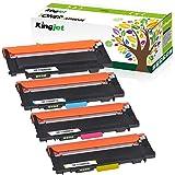 Kingjet Pack de 4 cartuchos de tóner compatibles con 117A W2070A para HP MFP 179fwg 178nwg tóner HP 150a 150nw HP Color Laser