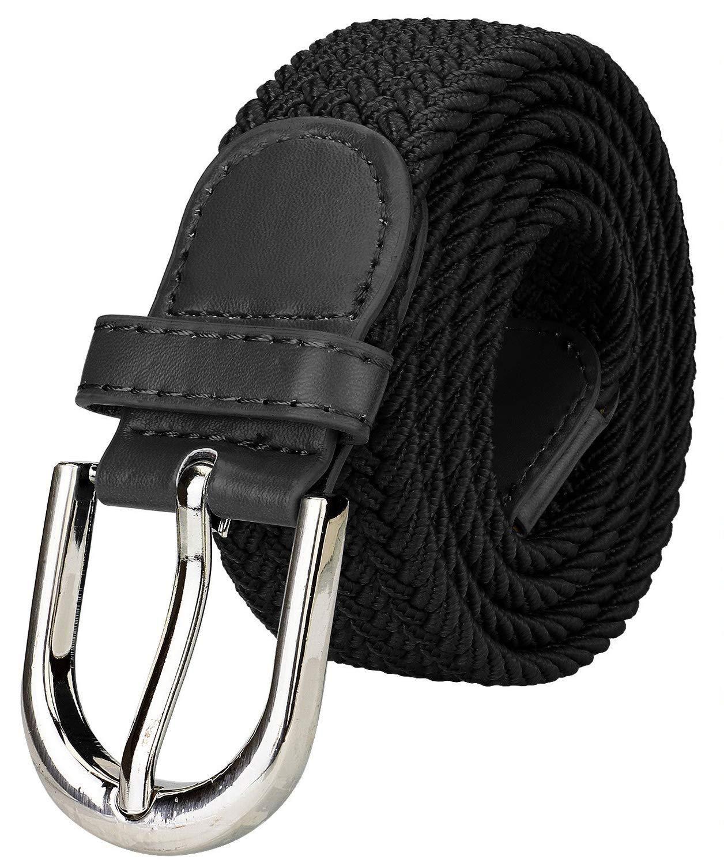 ZORO Women's Synthetic Belt(Black, Free Size)