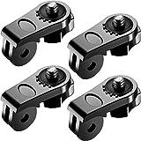 Neewer Universal Conversion Adapter Goproadapter Gopro Adapter (1/4 Zoll 20) Mini Tripod Schrauben Mount Fixing Gopro Zubehöre Sport Kamera, Sony Olympus und andere Action Kameras(4 Pack)