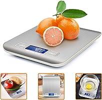 iKALULA Bilancia da Cucina Digitale, Alta Precisione Misurazione 1g a 5kg Bilancia Digitale LCD Display Multifunzionale...