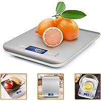 iKALULA Bilancia da Cucina Digitale  Alta Precisione Misurazione 1g a 5kg Bilancia Digitale LCD Display Multifunzionale Bilancia da Cucina Elettrica  2 Batterie Incluse