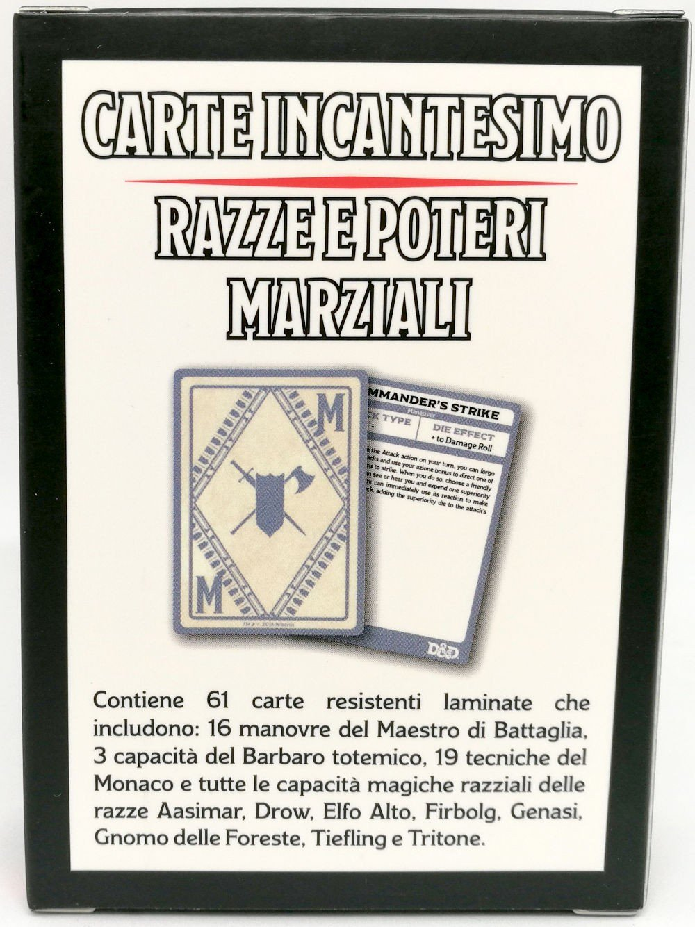 Enchantment-Card-DD-Breeds-and-Martial-Powers-5ED-Italian