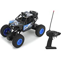 CADDLE & TOES Remote Controlled Monster Like Model Sports Car and Remote Controlling speed with Gun Remote Toy (BLUE)