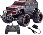 KIDSZONE (HB) Original 1:20 Bay Big and Mean Rock Crawling Scale Modified Hummer Monster Truck