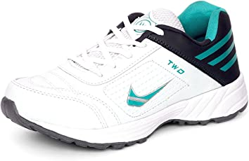 Touchwood Shot White Sports Shoes for Men ( Size: 6 -12 IND/UK )