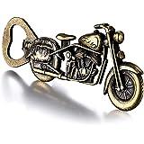 GOOKUURL Décapsuleur de bière de Moto, ouvre-Bouteille métal, ouvre-Bouteille de Moto, Vintage, ouvre-Bouteille de bière rétr