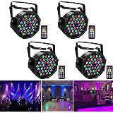 UKing LED Par koplampen DMX lichten RGB 36 LED verlichting met afstandsbediening LED spots Party lichteffecten voor DJ Disco