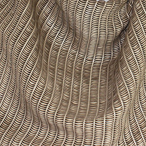 REPTILE'S HOUSE Schultertasche LUNE, (BxHxT) 54 x 46 x 8 cm Beige, Sabbia