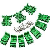 WEKON Set van 10 PCB DIN C45 rail DIN-rail adapter printplaat montagebeugel voor DIN C45-railmontage, voor het vastzetten en
