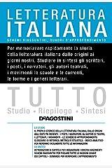 TUTTO Letteratura Italiana Formato Kindle