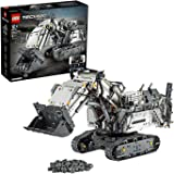 LEGO 42100 Technic Control+ Liebherr R 9800 Excavator App Controlled Advanced Construction Set with Interactive Motors and Bl