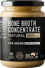 Meadow & Marrow Beef Bone Broth- Natural Flavour- 10 x More Amino Acids 260 grams