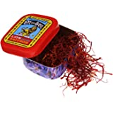 Lion Saffron, Original Kashmir Lacha Saffron/ Kesar/ Keshar (Certified Grade A) for Biryani, Beauty, Improved Health and…