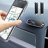 Timpou Support de voiture magnétique pour téléphone intelligent, support de téléphone portable mini bande compatible avec iPh