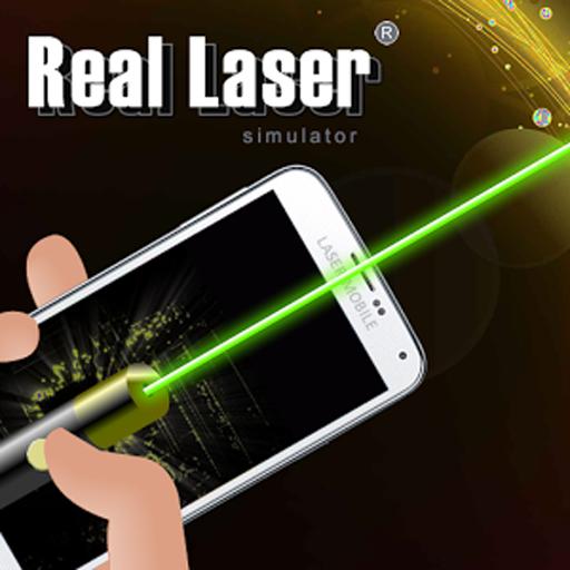 Mobile Laser-pointer (Laser Pointer Simulator)