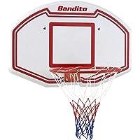 Bandito Basketball-Backboard Winner,ideal für Zuhause, wetterfest, robust, Wandgerät, alle Altersgruppen, auch als Set