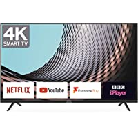 TCL 43DP628 43-Inch 4K UHD Smart TV - HDR10 / Freeview Play / BBC iPlayer / Netflix 4K…