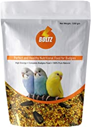 Boltz Bird Food for Budgies - Mix Seeds 1200 Gm