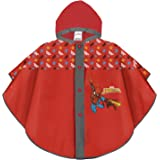 PERLETTI Poncho Impermeable Infantes 3 4 5 6 Años Spiderman Azul Rojo - Chubasquero Niño Marvel Spider Man Superhéroe - Chaqu