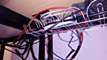 Ikea Regleta para Cables Horizontal, Metal, Gris, 86x21x5 cm ...