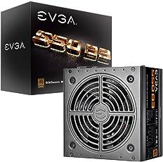 EVGA 550 B3, 80+ BRONZE 550W, Voll Modular, EVGA ECO Mode, 5 Jahre Garantie, kompakte 150mm Größe, Netzteil 220-B3-0550-V2