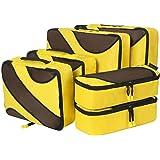 Amazon Brand - Eono Sac Organiseurs de Bagage, Sacs Rangement de Valise Voyage, Organisateurs de Voyage Cube, Packing Cubes,