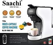 Saachi Coffee Pod/Capsule Coffee Machine, White, Nl-Cof-7058-Wh