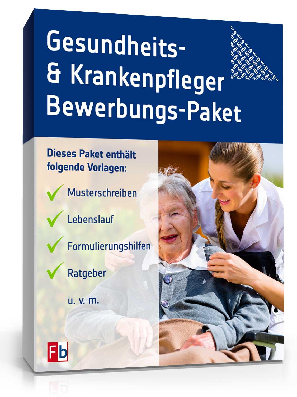 Bewerbungs-Paket Krankenpfleger [Zip Ordner] [Download]
