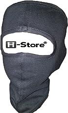 H-Store Ninja Grey Plain Bike Riders Anti Pollution Dust Sun Protecion Full Face Cover Mask Bike Riders