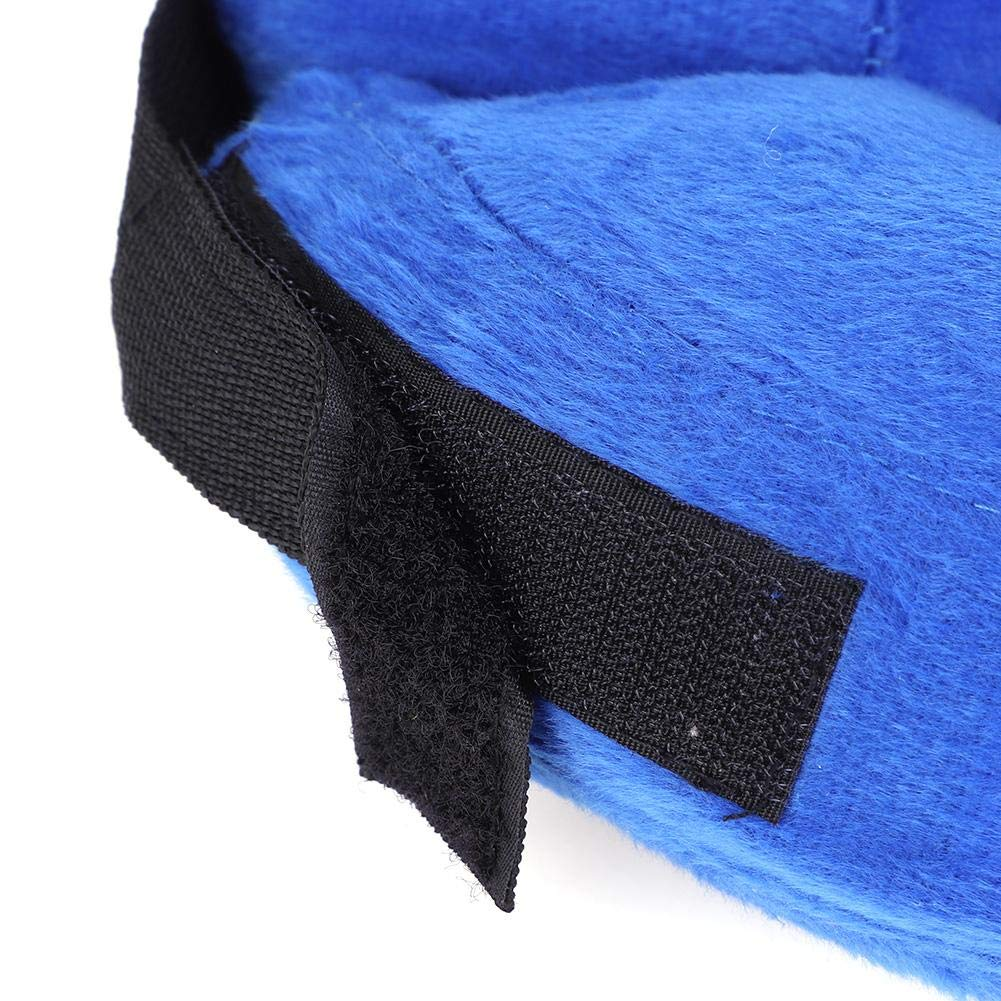 HEEPDD Pet Neck Protective Collar, PVC Dog Inflatable Anti Bite Recovery  Collar Adjustable Swim Ring Shaped Medical Wound Healing Protector for Pets