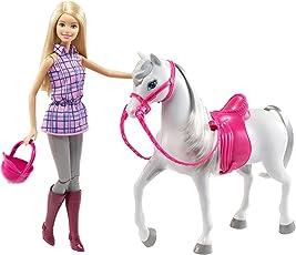 Barbie Mattel DHB68 Puppe & Pferd