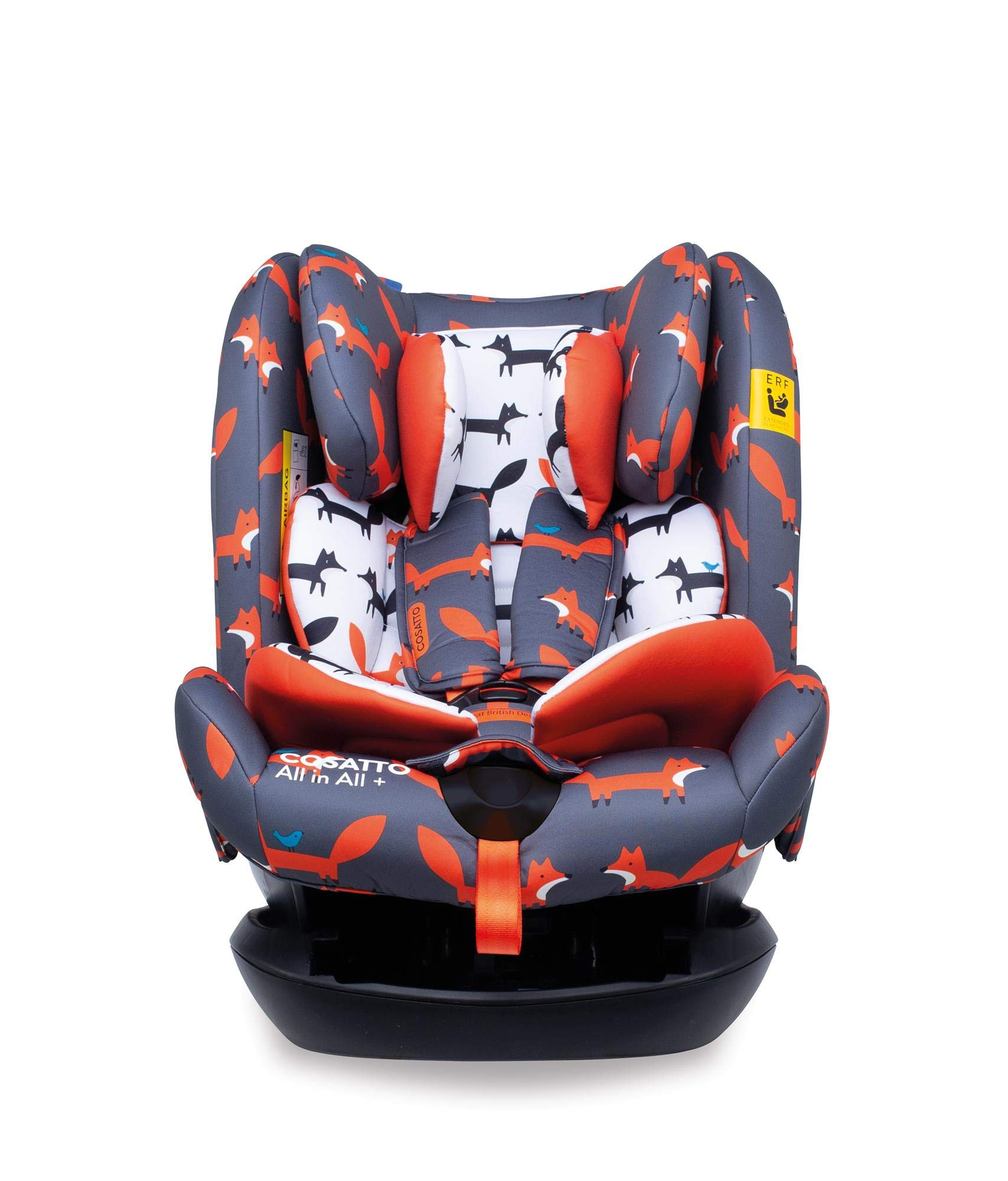 Cosatto CT4241 All in All + Group 0+123 Car Seat Mister Fox 8.9 kg Cosatto Extended rear facing Suitable for all stages Extra security 1
