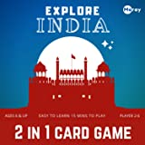 Moray Explore India Game: Educational Toy & Country Trump Cards for Kids Ages 5 - 8, 9 -12 Years Old Boys and Girls, India Le
