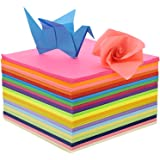 4 Seasons Origami Paper for craft 15 X 15 cm 100 Sheets Fluorescent Both Side Colored For Scrapbooking, Hobby Crafts, Project