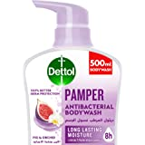 Dettol Pamper Showergel & Bodywash for effective Germ Protection & Personal Hygiene (protects against 100 illness causing ger