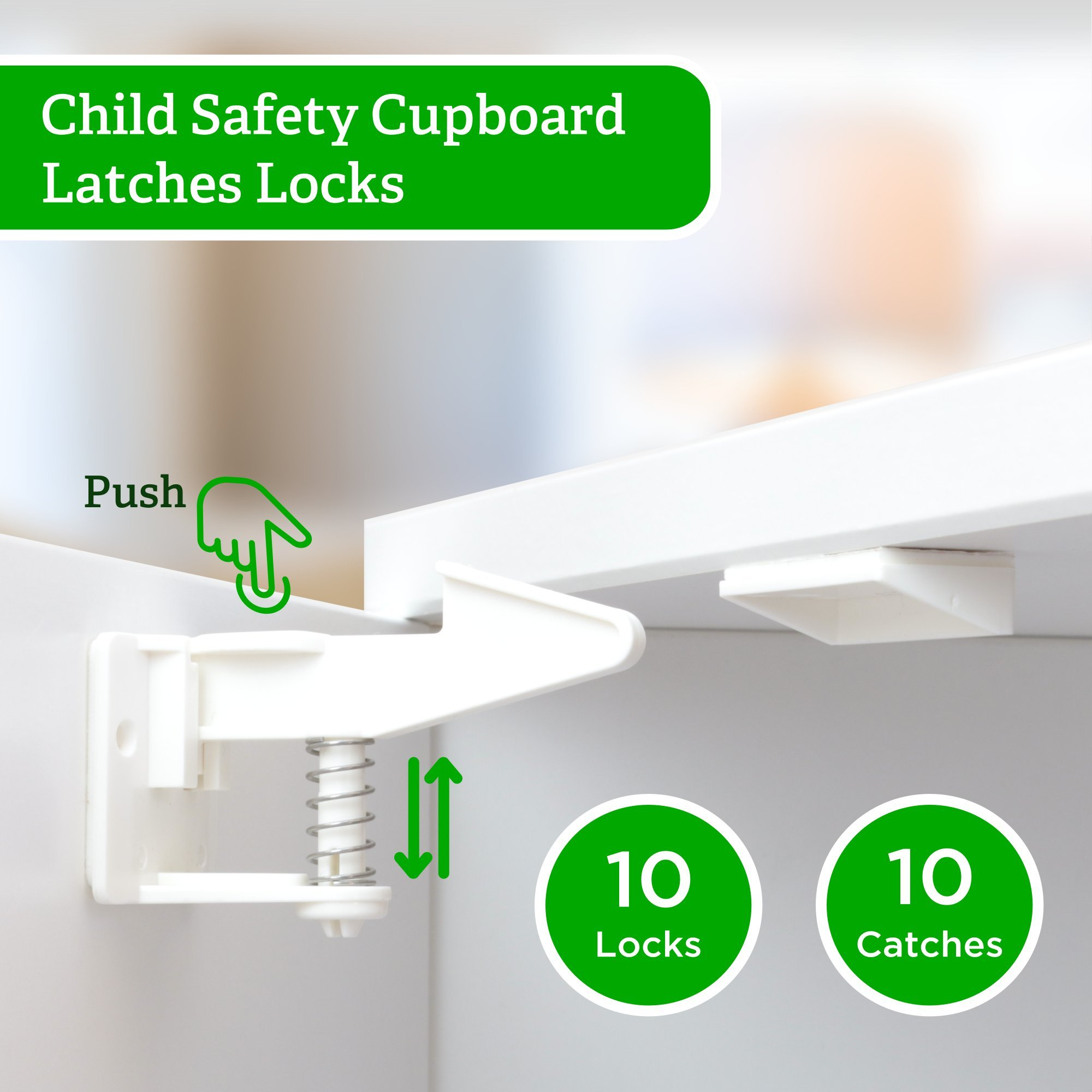 baby latches protectors cupboard drilling upgraded locks child dp com electric secure safe babyproofing pack amazon safety cabinet plug wappa invisible outlet by covers