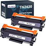 OfficeWorld Compatible Brother TN2420 TN-2420 TN2410 TN-2410 Cartuchos de Toner para Brother HL-L2310D L2350DN L2370DN L2375D