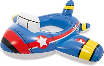 Intex 59586-2 Kiddie Floats - Plane, Blue