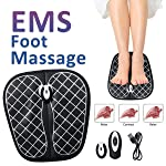 NewL Unisex EMS Tens Acupuncture Foot Massager Muscle Stimulator Acupoint Mat Health Care Foot Massage Deep Kneading...