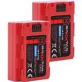 2X Baxxtar Pro III - Repuesto para la batería Sony NP-FZ100 - Sony Alpha 6600 Alpha 7 III Alpha 7R III Alpha 9 9R 9S Alpha 9