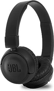 JBL T460BT Extra Bass Wireless On-Ear Headphones with Mic (Black)