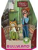 Bullyland 46005 - Spielfigurenset, Pettersson und Findus in Geschenk Box, 2 teilig, liebevoll handbemalte Figuren, PVC…