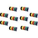 Electrical Insulation Tape Self Adhesive PVC (0.125x170), 8 mtrs, Assorted Colour)-PACK OF 5
