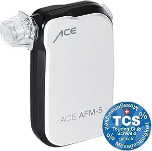 Ace 107221 Smartphone Alkoholtest Afm 5 Bluetooth Für Android Ios Drogerie Körperpflege