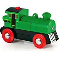 BRIO World Battery Powered Engine for Kids age 3 years and up compatible with all BRIO train sets