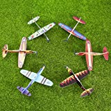IBASETOY fliegende Gleiter - Gleitflugzeuge für Kindergeburtstag, Preise, Mitgebsel, Mitgebseltüte Füller, 24 Stück hergestellt von IBASETOY