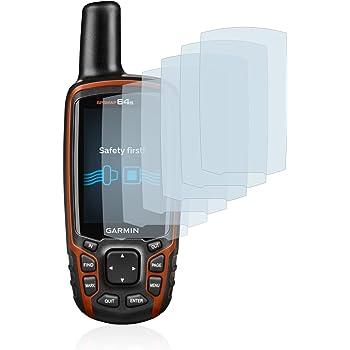 Savvies Film Protection d'écran pour Garmin GPSMAP 64s [6 Pièces] - Ultra Clair